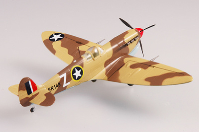 Spitfire MkVB, USAAF 2FS, 1943, 1:72, Easy Model
