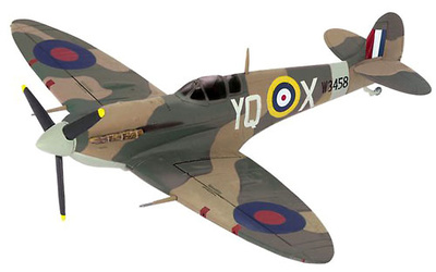 Spitfire Mkvb, Fighter Aircraft 616 Sqn, 1:72, Dragon Wings