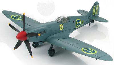 Spitfire PR.XIX 1st Flight F11 Wing, Swedish Air Force, 1:48, Hobby Master