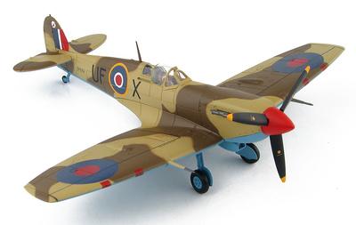 Spitfire Vb Trop No.601 Sqn., EP689/UF-X, , Libia, Diciembre, 1942, 1:48, Hobby Master