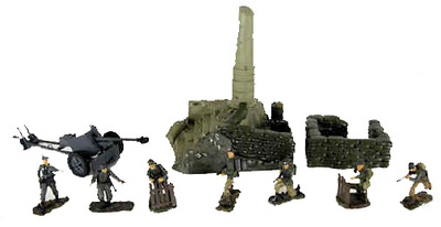 """Squad in the attack"", 1:32, 21st Century Toys"