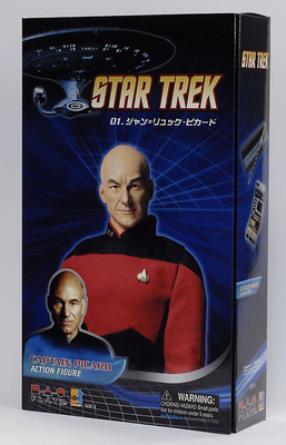 "Star Trek The Next Generation, ""Jean-Luc Picard"", 1:6, Dragon Figures"