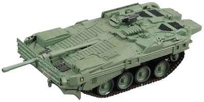 Strv-103B Swedish Army MBT, 1:72, Easy Model