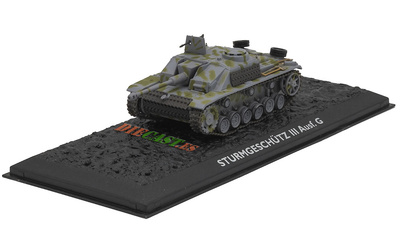 Sturmgeschütz III Ausf. G, Alemania, 1940/45, 1:72, Atlas Editions