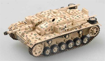 Sturmgeschutz III, Ausf. F Assault Gun, Italy, 1943, 1;72, Easy Model