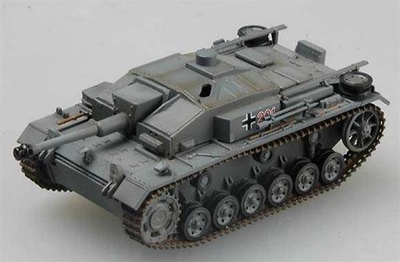 Sturmgeschutz III Ausf. F Assault Gun, StuG Abt. 201, 1:72, Easy Model