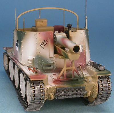 Sturmpanzer 38(t) Assault Gun Grille 38(t) Ausf.H Sd.Kfz.138/1, 3.SS-Panzer-Division Totenkopf, Rusia, invierno, 1943-44, 1:48, Gasoline