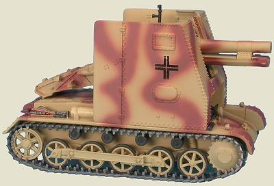 Sturmpanzer I 15 cm sIG 33 (Sf) auf Panzerkampfwagen I Ausf B, 5th Pz. Div. Rusia, 1943, 1:48, Gasoline