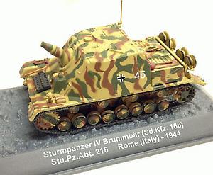 "Sturmpanzer IV ""Brummbär"" Sd.Kfz.166, Roma, 1944, 1:72, Altaya"