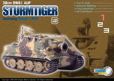 Sturmrtiger zim. 38 cm. R61, Dragon Armor, 1:72