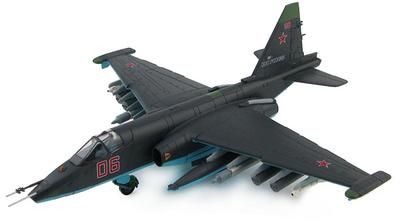 Su-25 SM Red 06 Russian Air Force, Ramenskoye (Zhukovsky), Rusia, Agosto, 2012, 1:72, Hobby Master