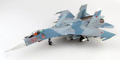 Su-27 Flanker B Red 93, Flota de la Armada Rusa en el Báltico, June 2017, 1:72, Hobby Master