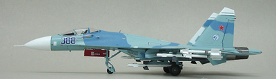 """Su-27 Flanker Russian Air Force, """"Blue 388"""", 1:72, Witty Wings"""