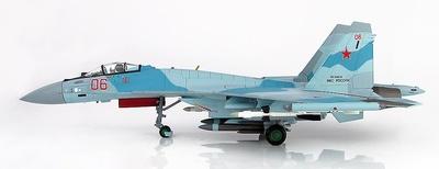 Su-35S Flanker E Red 06, Fuerzas Aéreas Rusas,  Latakia, Siria,  2016, 1:72, Hobby Master