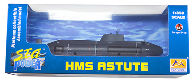 Submarino HMS Astute S119, Royal Navy, 1:350, Easy Model