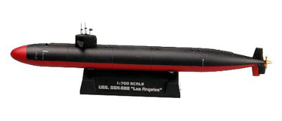 Submarino SSN-688, USS Los Angeles, 1:700, Easy Model