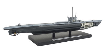 Submarino U-214, Alemania, Segunda Guerra Mundial, 1:350, Editions Atlas