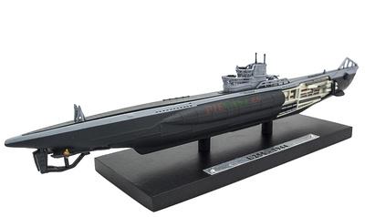 Submarino U-255, Alemania, Segunda Guerra Mundial, 1:350, Editions Atlas