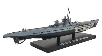 Submarino U515, Alemania, Segunda Guerra Mundial, 1:350, Editions Atlas