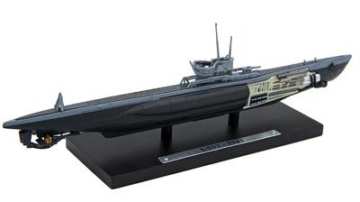 Submarino U552, Alemania, Segunda Guerra Mundial, 1:350, Editions Atlas