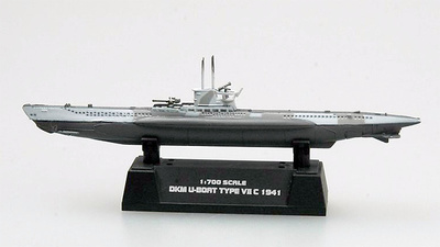 Submarino alemán  U7C, 1941, 1:700, Easy Model