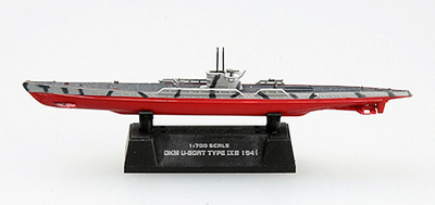 Submarino alemán  U9B, 1941, 1:700, Easy Model