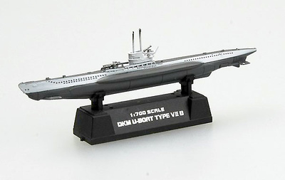 Submarino alemán UTB, 1941, 1:700, Easy Model