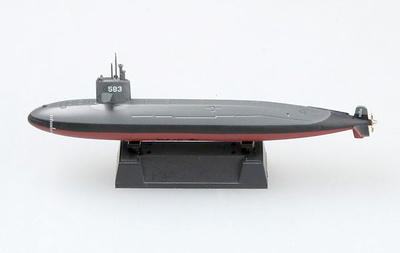 Submarino de Autodefensa Japonesa SS Harushio, 1:700, Easy Model