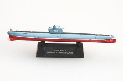 Submarino de la Marina Popular China R33, 1:700, Easy Model