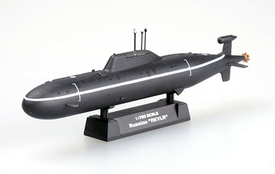 Submarino ruso Akula, 1:700, Easy Model