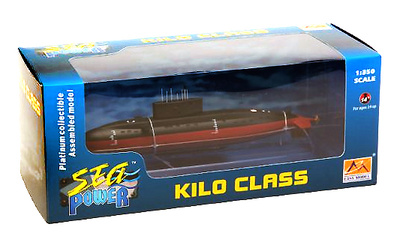 Submarino ruso  Kilo Class, 1:350, Easy Model