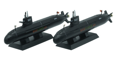 Submarinos Sōryū (SS-501) y Unryū (SS-502), JMSDF, 1:900, Planeta DeAgostini