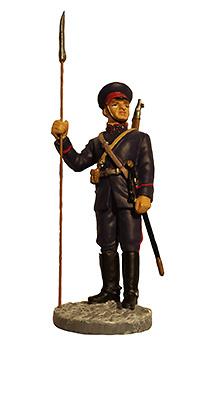 Suboficial Cosaco con uniforme de parada, Ejército Soviético, 1941, 1:32, Eaglemoss