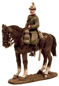 Subteniente, regimiento de caballería Saboya, 1915, 1:30, Del Prado