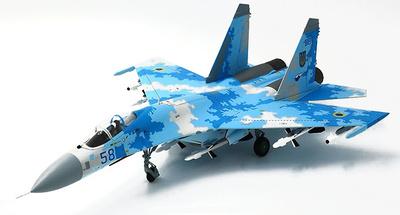 Sukhoi SU-27 Flanker, Fuerzas Aéreas de Ucrania, Agosto, 2016, 1:72, JC Wings