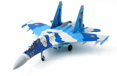 Sukhoi SU-27UB Flanker-C, Fuerzas Aéreas de Kazajistán, 604th Air Base, Aeropuerto de Taldykorgan, 2010, 1:72, JC Wings