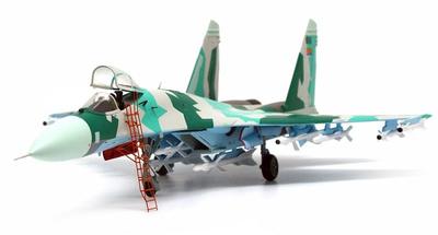 Sukhoi Su-27 Flanker Eritrean Air Force 2010, 1:72, JC Wings