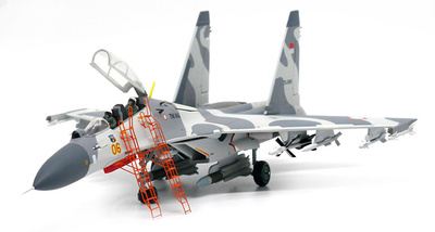 Sukhoi Su-30 MK Flanker-C Indonesian Air Force 11th Squadron 2016, 1:72, JC Wings