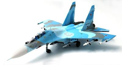Sukhoi Su-30M2 Flanker C, Blue 91, Fuerza Aérea Rusa, 2014, 1:72, JC Wings