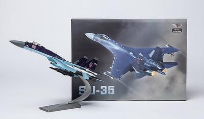 Sukhoi Su-35, Fuerza Aérea Rusa, Esquema color Púrpura, 1:72, Air Force One