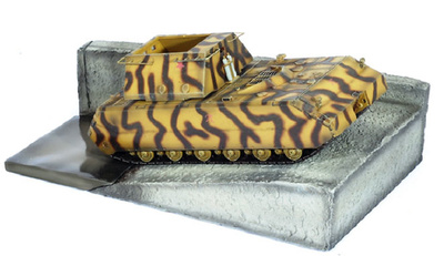 Super heavy Tank MAUS Bóblingen Qualified, 1:72, Dragon Armor