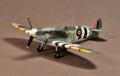 Supermarine Spitfire MK.IX 485 Squadron, France, 1944, 1:72, War Master