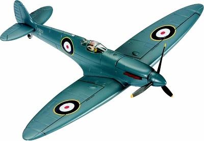 Supermarine Spitfire Mk I Diecast Model RAF No.212 Sqn, P9931, France, 1940, 1:72, Corgi