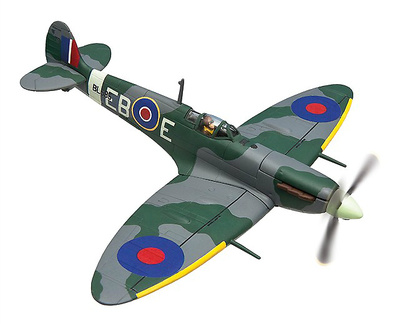 Supermarine Spitfire Mk.Vb, BL595, Bram Van Der Stok, 'Great Escape Collection', 1:72, Corgi