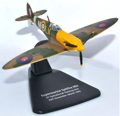 Supermarine Spitfire Mk1 57 OTU, RAF Hawarden, Marzo, 1942, 1:72, Oxford