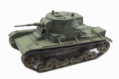 T-26, Modelo de 1935, Tanque Ligero Republicano, 1:30, John Jenkins