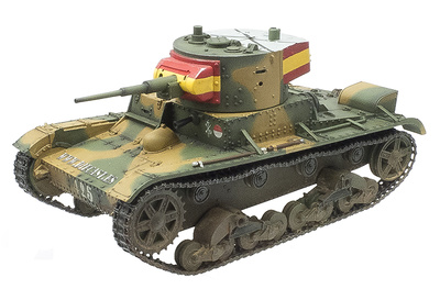 T-26, tanque ligero, España, Guerra Civil Española, 1:30, John Jenkins