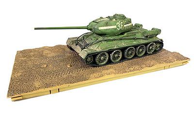 T-34/85, Tanque Medido Soviético, 1945, con 1 figura 1:32, Forces of Valor