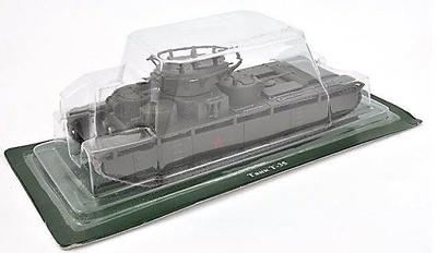 T-35, Soviet heavy tank, 1:72, DeAgostini