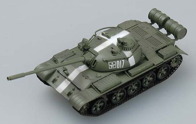 T-55 Russian Main Battle Tank, Prague 1968, 1:72, Easy Model